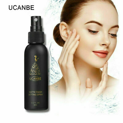 UCANBE Natural Beauty Makeup Setting Spray Bottle Matte Finishing Long Lasting