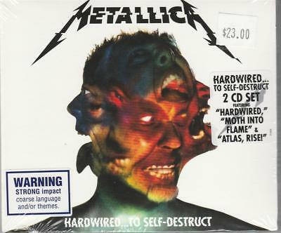 Meallica ( Oz  2Cd '16) Hardwired To Self-Destruct - New Sealed - Australia