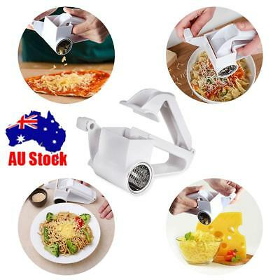 Stainless Steel Classic Rotary Cheese Grater Fondue Chocolate Baking Kitchen AU