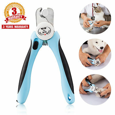 Pet Nail Clippers for Dogs Cats Small Animals, Trimmers with Nail File