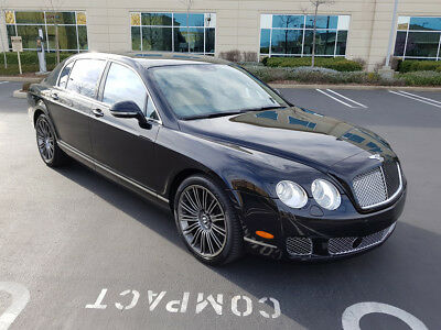 2011 Bentley Continental Flying Spur Speed Sedan 4-Door 2011 BENTLEY CONTINENTAL FLYING SPUR SPEED, ONLY 34K MI, DON'T MISS!