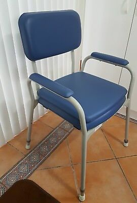 Bedside Commode Toilet frame Padded chair in Excellent condition