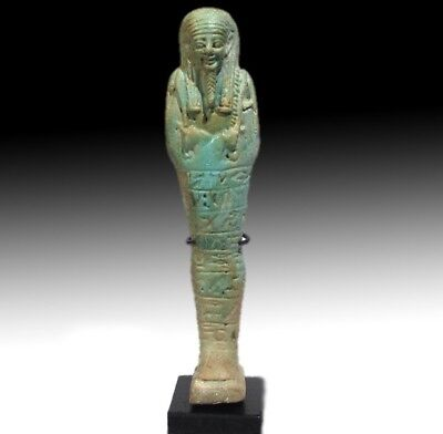 Egyptian Antiques Egyptian Shabtis 664 -525 B.C.