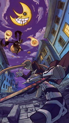 """034 Soul Eater - Shinigami Death the kid Anime 14""""x24"""" Poster"""