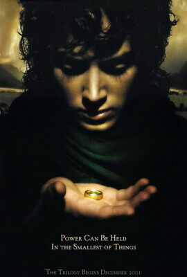 """006 Lord Of The Rings - Hobbit Middle Earth Fight Movie 24""""x35"""" Poster"""