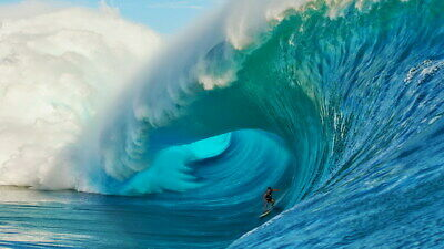 "009 GIANT WAVE - Sea Surfing 42""x24"" Poster"