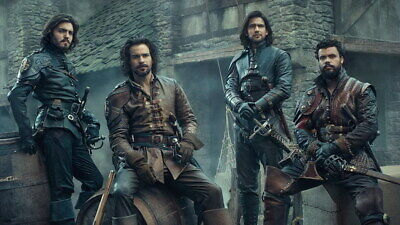 """016 The Musketeers - Season1 2 3 4 Fight Hot TV Shows 42""""x24"""" Poster"""