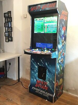 Full Size Custom Designed Arcade Machine for Games Room Mancave Thousands Games