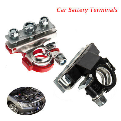 12V 3Way Positive Negative Battery Terminals Connectors Clamps Car Motorhome
