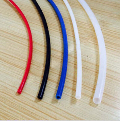 PTFE Teflon Tubing 2mm ID x 4mm OD - MK8 / MK10 Extruder 1.75mm 4 colours Pipes