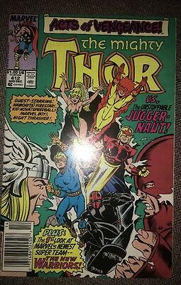Thor (Vol 1) # 412 Very Fine (VFN) Marvel Comics MODERN AGE