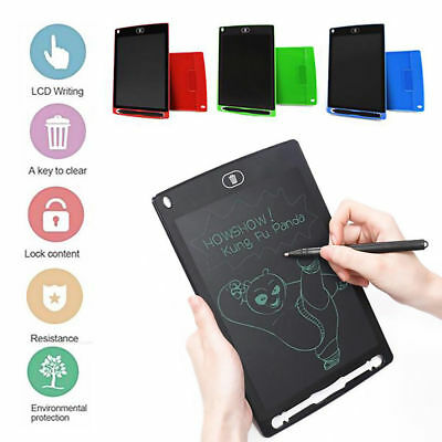 "8.5"" LCD Writing Pad eWriter Board Kids Painting Drawing Tablet Message Doodle"