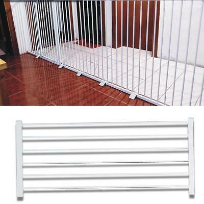 New Swing Closed 42*102CM Liberty Baby Security Safety Gate Extension Whi Gift