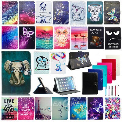 For Apple iPad 6th Gen 2018 Release New Print Universal Leather Stand Case Cover