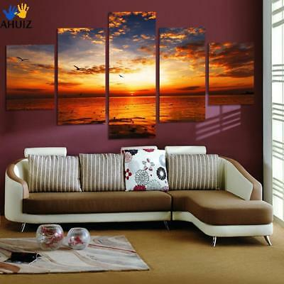 5 pieces Unframed Wall Art Picture