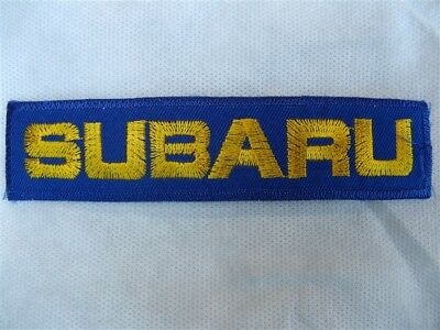 Subaru patch patches sticker sewing iron on red t-shirt hat bag jacket