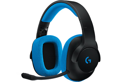 Logitech G233 Gaming Headset Stereo HEADPHONES REMOVABLE MICROPHONE 3.5MM JACK
