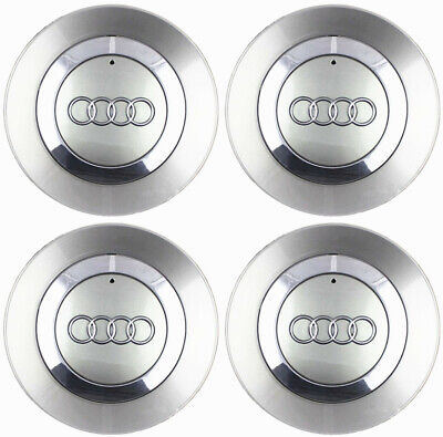 "4 OEM Wheel Center Hub Cap 8E0601165 FOR AUDI 02-06 Audi A4 B6 16"" 5 Spoke Wheel"