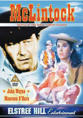 McLintock [1964] [DVD] - John Wayne (DVD) (New & Sealed)