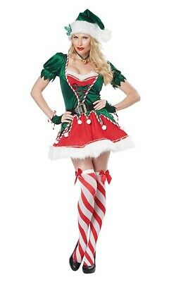 c0ef6aab0d8 SEXY PINK HELPER Santa Mrs Claus Fancy Dress Elf Christmas Eskimo ...