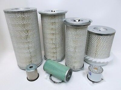 Oil, Fuel & Air Filter for Lister Petter HL6 & HLT6 Industrial Engines