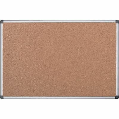 Cork Notice Pin Board Aluminium Frame Multi Sizes Special Offer From £11.99