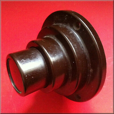 Vintage Bakelite 1 Pole 6A Electric Push Timer Switch, Mechanically Delayed OFF