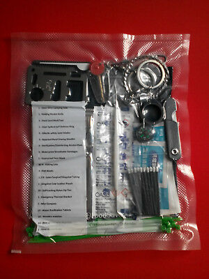 DOOMSDAY Prepper BUG OUT BAG Emergency SURVIVAL First-Aid DISASTER KIT 76 items