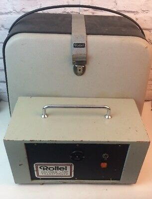 Vintage John Drummond Engineering LTD Rollei Isolating Transformer.
