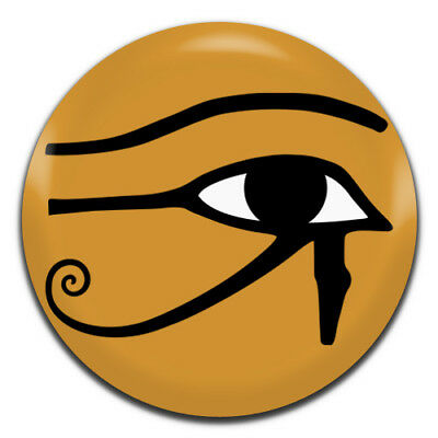 Ancient Egyptian Eye Of Horus 25mm / 1 Inch D Pin Button Badge