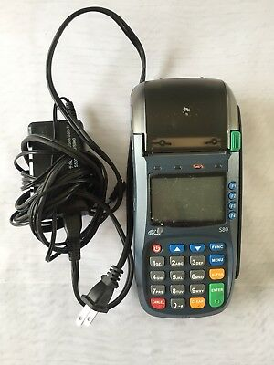 PAX S80 Credit Card Terminal Machine - CHIP READER AND SWIPER - USED FOR 1 YEAR