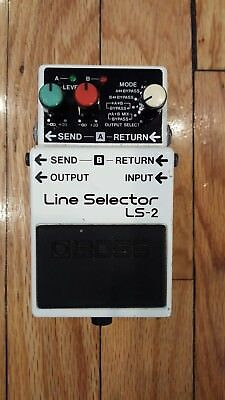 VERY EARLY BOSS LS-2 Line Selector March 1992