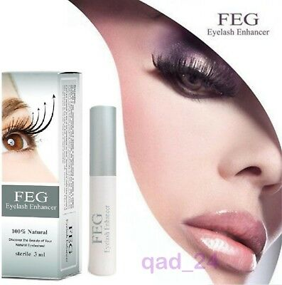 FEG Eyelash Enhancer Eye Lash Eyebrow Rapid Repair Oil Growth Serum Liquid UK