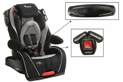 Safety 1st Alpha Omega Elite 65 Convertible Car Seat Harness Chest Clip & Buckle