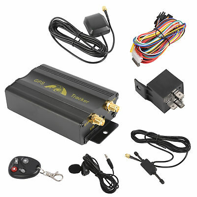 Realtime GSM SMS Vehicle Car GPS Tracker Tracking Device TK103B Alarm System VG2