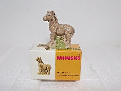 WADE WHIMSIES ZEBRA 1971/74 new in original picture box Nos New Old stock,Mini
