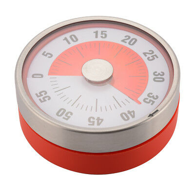 Baldr 8CM Mechanical Kitchen Timer Cooking Reminder Magnet Round Shape HS1129