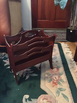 Antique Butler Magazine Rack Style 700
