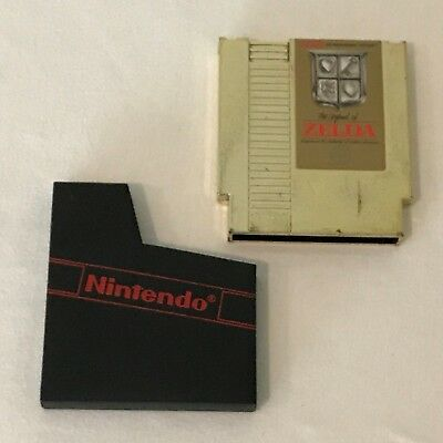 Nintendo NES The Legend of Zelda Gold Video Game Cartridge with Sleeve, Tested