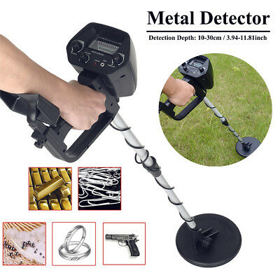 Waterproof Metal Detector Deep Sensitive Search Gold Digger Hunter Set MD-4030