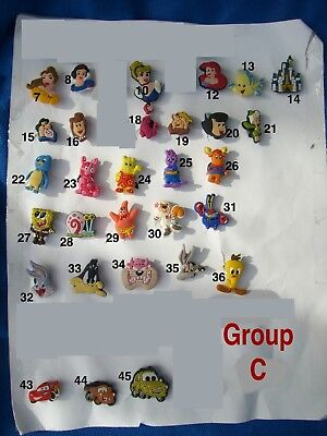 SpongeBob, Peanuts, The Backyardigans Single Cartoon Shoe Charm for Crocs shoes