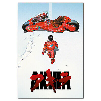 Akira Anime Poster High Quality Print Free Shipping