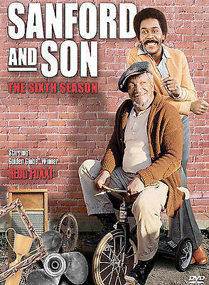 Sanford and Son - The 6TH Season (DVD, 3-Disc Set) NEW SEALED & FAST-FREE SHIP
