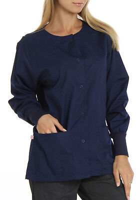 Hey Women's Womens Baby Twill Warm Up Scrub Jacket