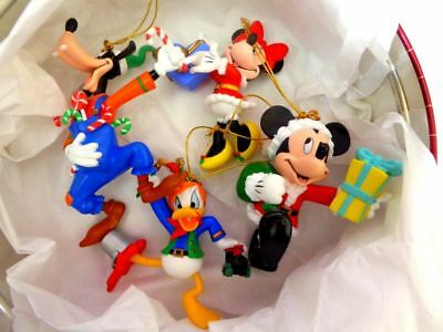 Disney Characters Christmas Ornaments Lot Goofy Donald Minnie & Mickey  Mouse ++ - DISNEY CHARACTERS CHRISTMAS Ornaments Lot Goofy Donald Minnie