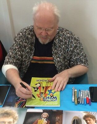 Doctor Who Voyager Graphic Novel - Signed By Colin Baker - With Poa & Loa
