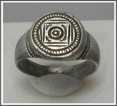 **IRON AGE**Ancient Silver  CELTIC Ring  800–450 BC**RARE **