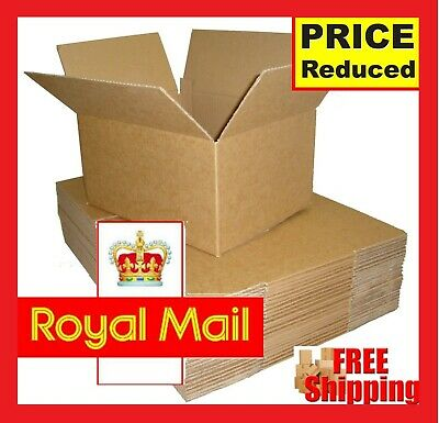 Cardboard Boxes Single Wall Packing Cartons House Removals Storage Post Mailing