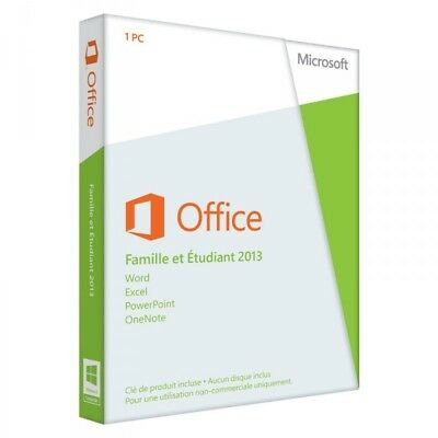 Microsoft Office Home and Student 2013 (Medialess) - 1-User - French (79G-03607)