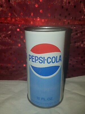 Vintage Pepsi-Cola Metal Coin Bank Can ~ Extremely Rare to Find ~ National Bev
